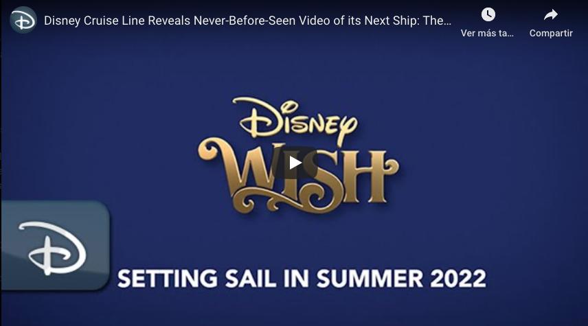 Video Disney Wish