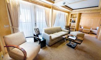 Concierge Royal Suite con terraza