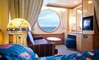 Camarote Deluxe vista al mar (exterior)