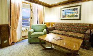 Concierge 2-Bedroom Suite con terraza